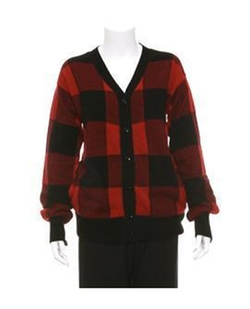 Buffalo Plaid Cardigan by Alexander Wang in Sex and the City
