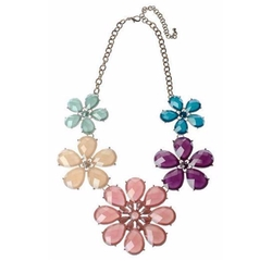 Pastel Flower Necklace by Majique in Fuller House
