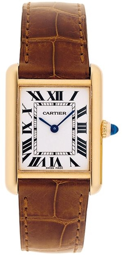 Tank Louis Cartier Watch by Cartier in Elementary