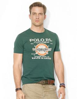 Guide Crewneck T-shirt by Polo Ralph Lauren in Ouija