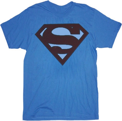 Superman Faded Maroon Original Logo T-Shirt by TV Store Online in The Big Bang Theory - Season 9 Episode 12