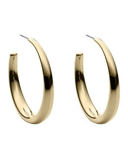 Golden Hoop Earrings by Michael Kors in Top Five