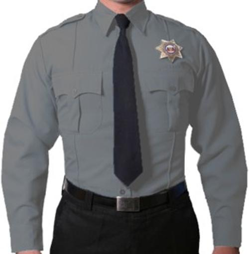 Long Sleeve Uniform Shirt by Uniforms Warehouse in Ride Along