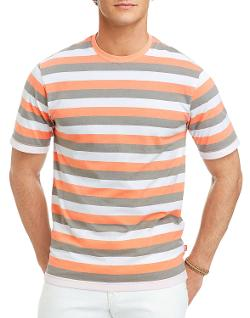 Mens Short Sleeve Auto Stripe Jersey T-Shirt by Izod in We're the Millers