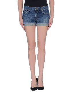 Dark Wash Denim Shorts by Pierre Balmain in The Longest Ride