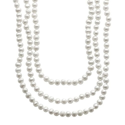 Freshwater Cultured Pearl Long Necklace by Pearlustre By Imperial in The Good Wife