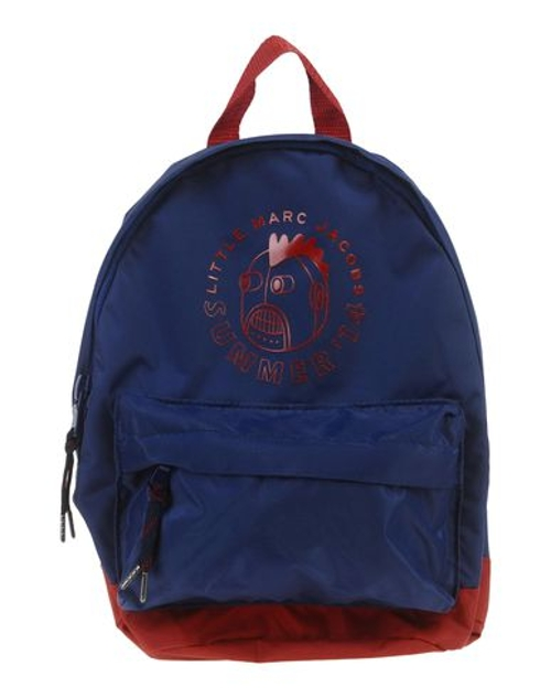 Two-Tone Pattern Backpack by Little Marc Jacobs in Before I Wake