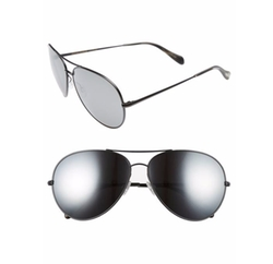 Sayer Aviator Sunglasses by Oliver Peoples in Animal Kingdom