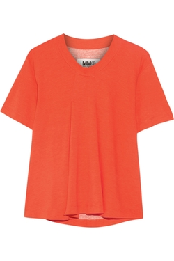 Stretch modal-jersey T-shirt by Maison Margiela in Scream Queens