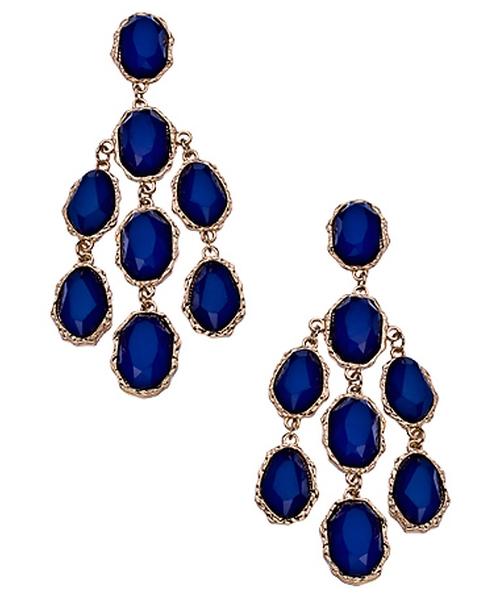 Bianca Chandelier Earrings by Blu Bijoux in Pretty Little Liars - Season 6 Episode 9