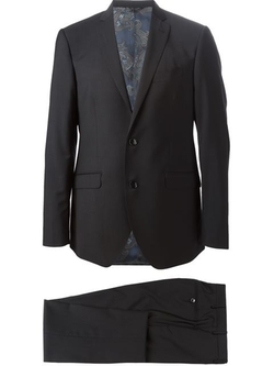 Classic Two Piece Suit by Etro in The Vampire Diaries