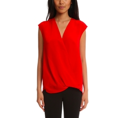 Soft Draped Sleeveless Blouse by 3.1 Phillip Lim in The Fate of the Furious
