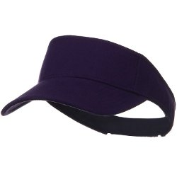 Cotton Jersey Knit Sun Visor by Otto Caps in Horrible Bosses 2