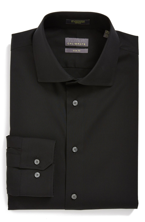Trim Fit Dress Shirt by Calibrate in The Matrix