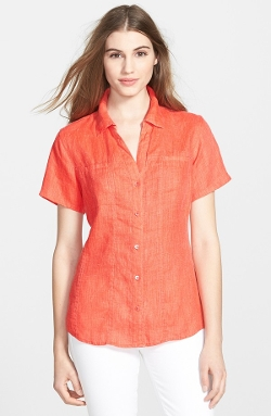'Madre' Linen Shirt by Tommy Bahama in No Escape