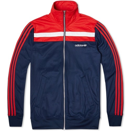 83 Europa Track Top Jacket - Collegiate Navy by Adidas Originals in Deadpool