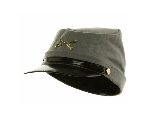 Federal Confederate Army Soldier Kepi Wool Hat by Jacobson Hat Company in Free State of Jones