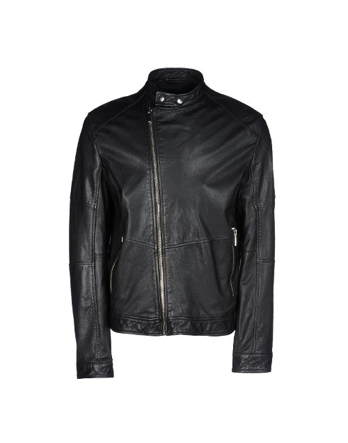Leather Biker Jacket by 8 in The Man from U.N.C.L.E.