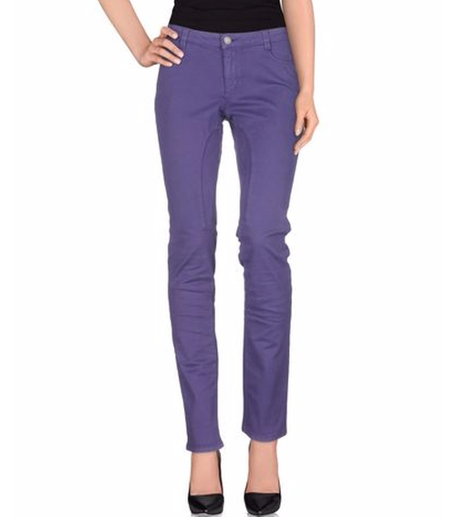 Casual Straight Leg Pants by Siviglia in Pretty Little Liars - Season 7 Episode 8
