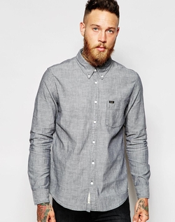 One Pocket Chambray Shirt by Lee in Modern Family