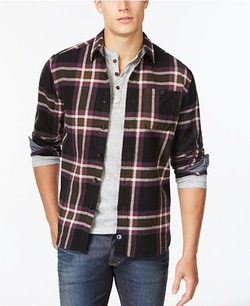 Long Sleeve Heavy Twill Shirt by Boston Traders in American Pie