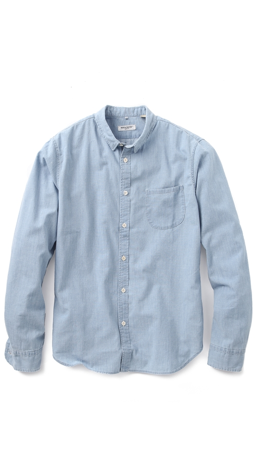 Pocket Chambray Shirt by Levi's Made & Crafted in Blackhat