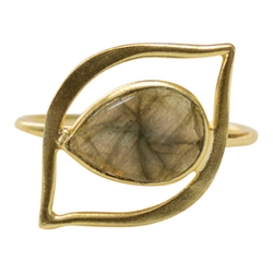 Erin Labradorite Ring by Brooklyn Designs in The Bachelorette