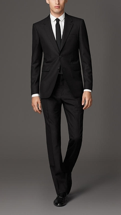 Modern Fit Wool Suit by Burberry in Sex and the City