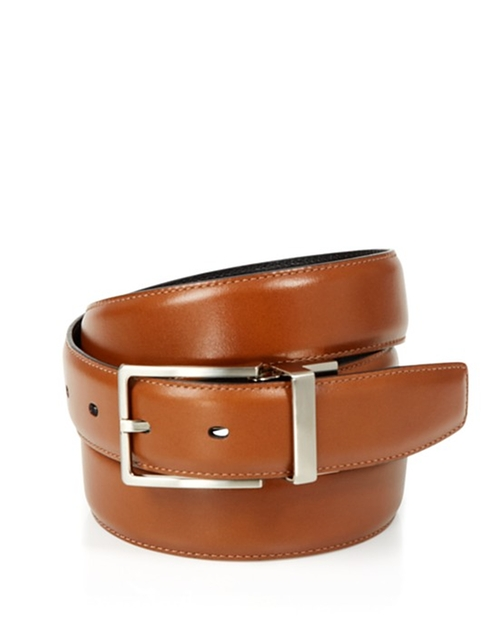 Amigo Reversible Leather Belt by The Men's Store at Bloomingdale's in Rosewood - Season 1 Episode 4