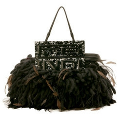 Gray Fur Handbag by Fendi in Sex and the City