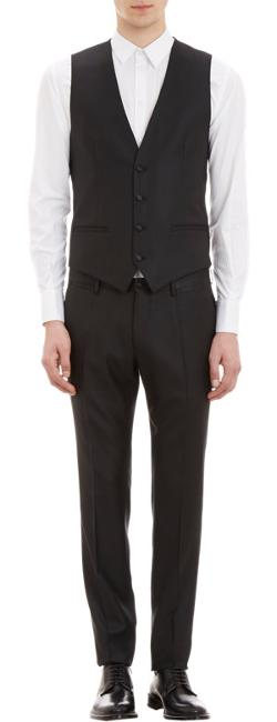 Four-Button Waistcoat by DOLCE & GABBANA in About Last Night