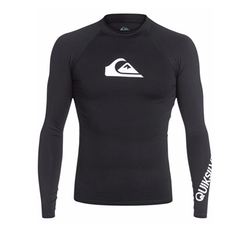 All Time Long-Sleeve Rashguard by Quiksilver in Mechanic: Resurrection