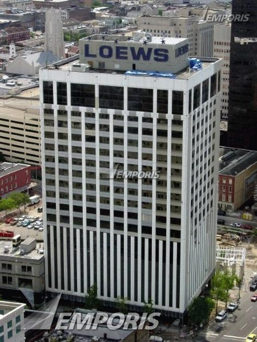Loews New Orleans Hotel New Orleans, Louisiana in Contraband