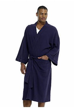 Waffle Weave Robe by Saddlebred in Couple's Retreat
