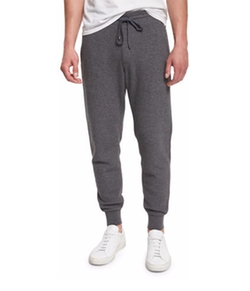 Racking Thermal-Stitch Drawstring Sweatpants by Vince in Why Him?