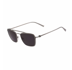 Navigator Titanium Sunglasses by Salvatore Ferragamo in Rosewood