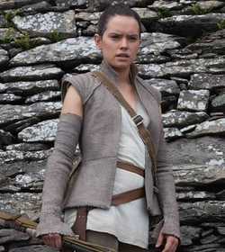 Custom Made Rey Costume by Michael Kaplan (Costume Designer) in Star Wars: The Last Jedi