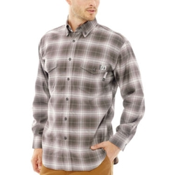 Long-Sleeve Flame-Resistant Plaid Shirt by FireZero By Wolverine in Supernatural