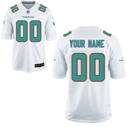 Miami Dolphins Customized Jersey by Nike in Ballers
