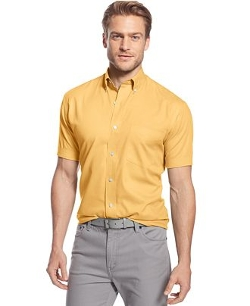 Solid Twill Pocket Shirt by Club Room in Love & Mercy