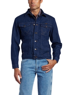 Rugged Wear Unlined Denim Jacket by Wrangler in The Ranch