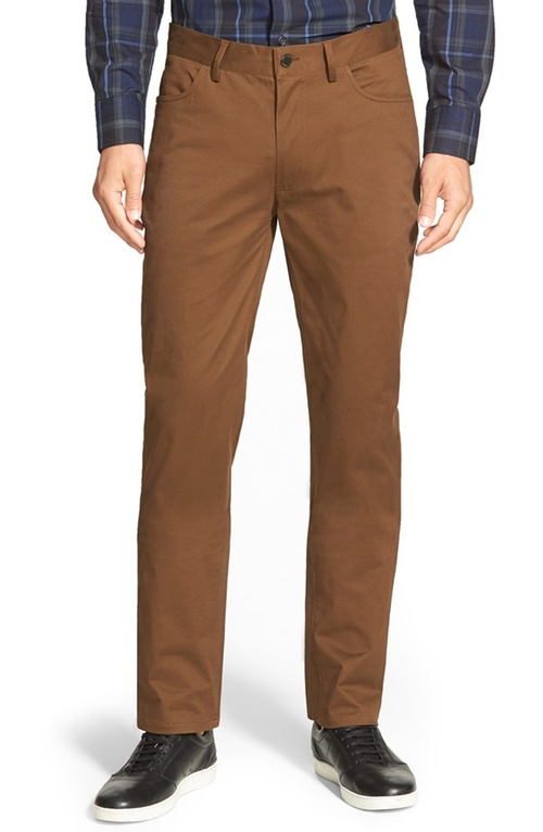 Vince 'Core' Slim Fit Five Pocket Chino Pants by Vince Camuto in Elementary - Season 4 Episode 2