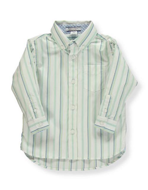 Boy's Striped Button-Down Shirt by Hartstrings in Little Fockers