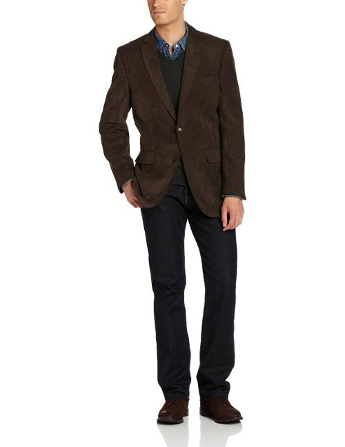 Men's Two-Button Side-Vent Corey Sport Coat by Jones New York in Wish I Was Here
