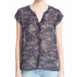 Farhana Field-Print Top by Joie in Arrow