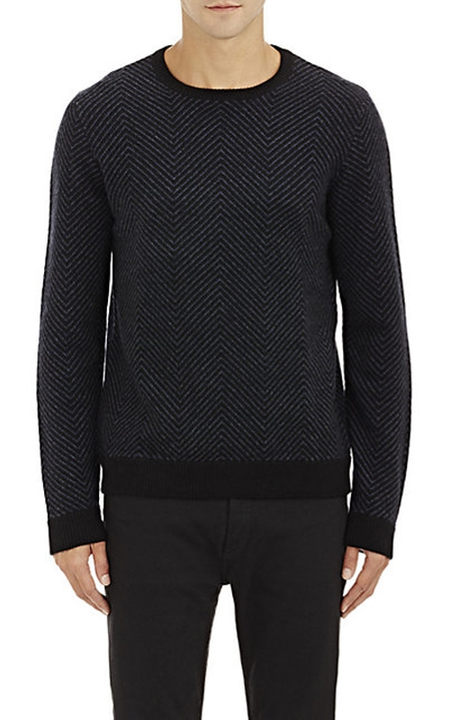 Cashmere Sweater by Barneys New York in Arrow