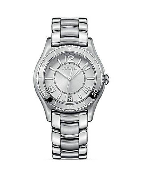 Stainless Steel Watch by Ebel in Focus