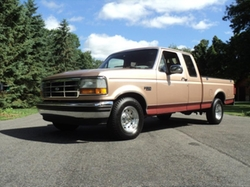 1995 F150 Pickup Truck by Ford in Hell or High Water