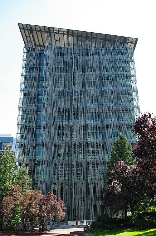 Edith Green Wendell Wyatt Federal Building Portland, Oregon in If I Stay