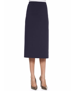 Long Punto Milano Pencil Skirt by Lafayette 148 New York in Suits